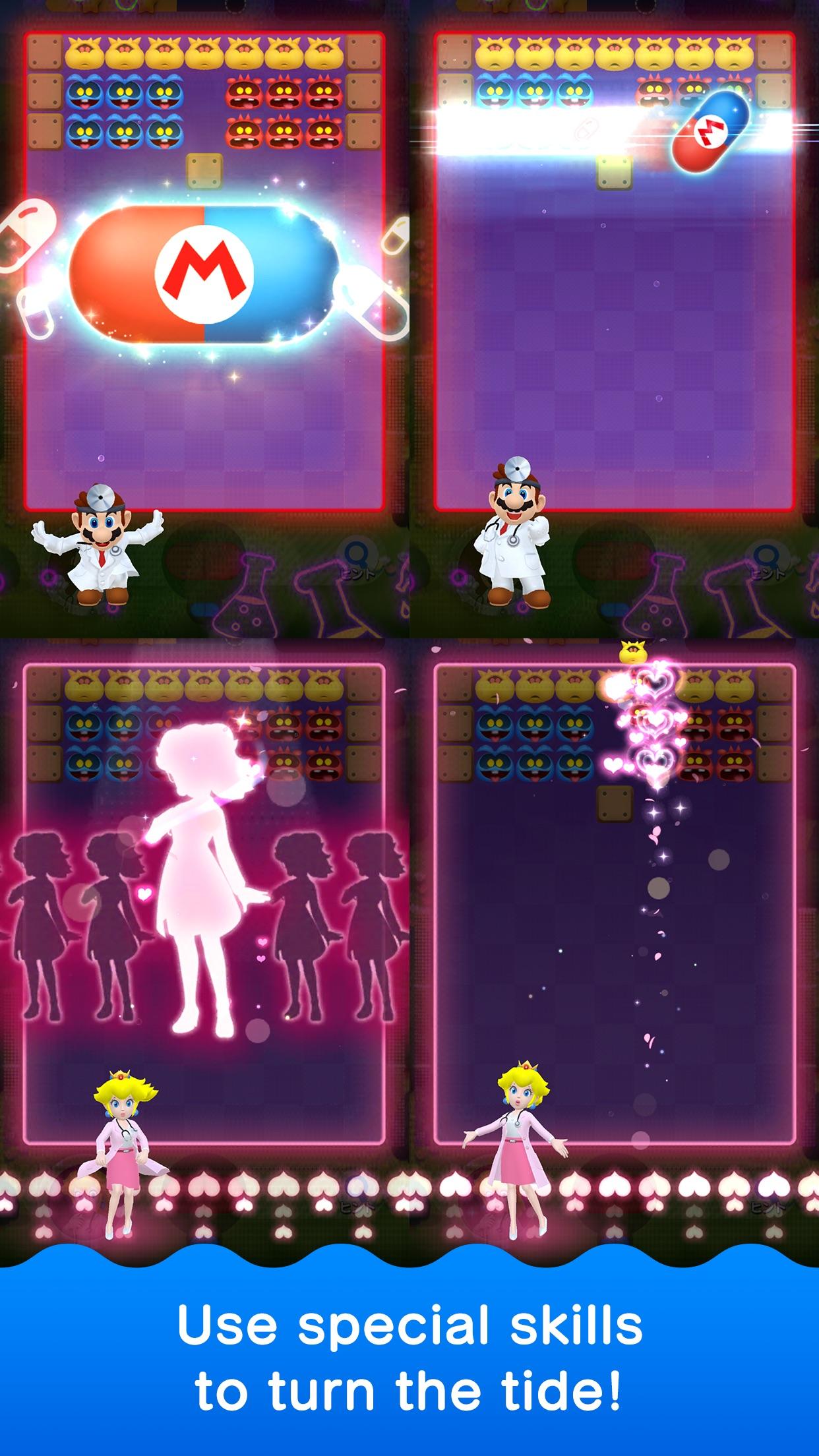 Screenshot do app Dr. Mario World