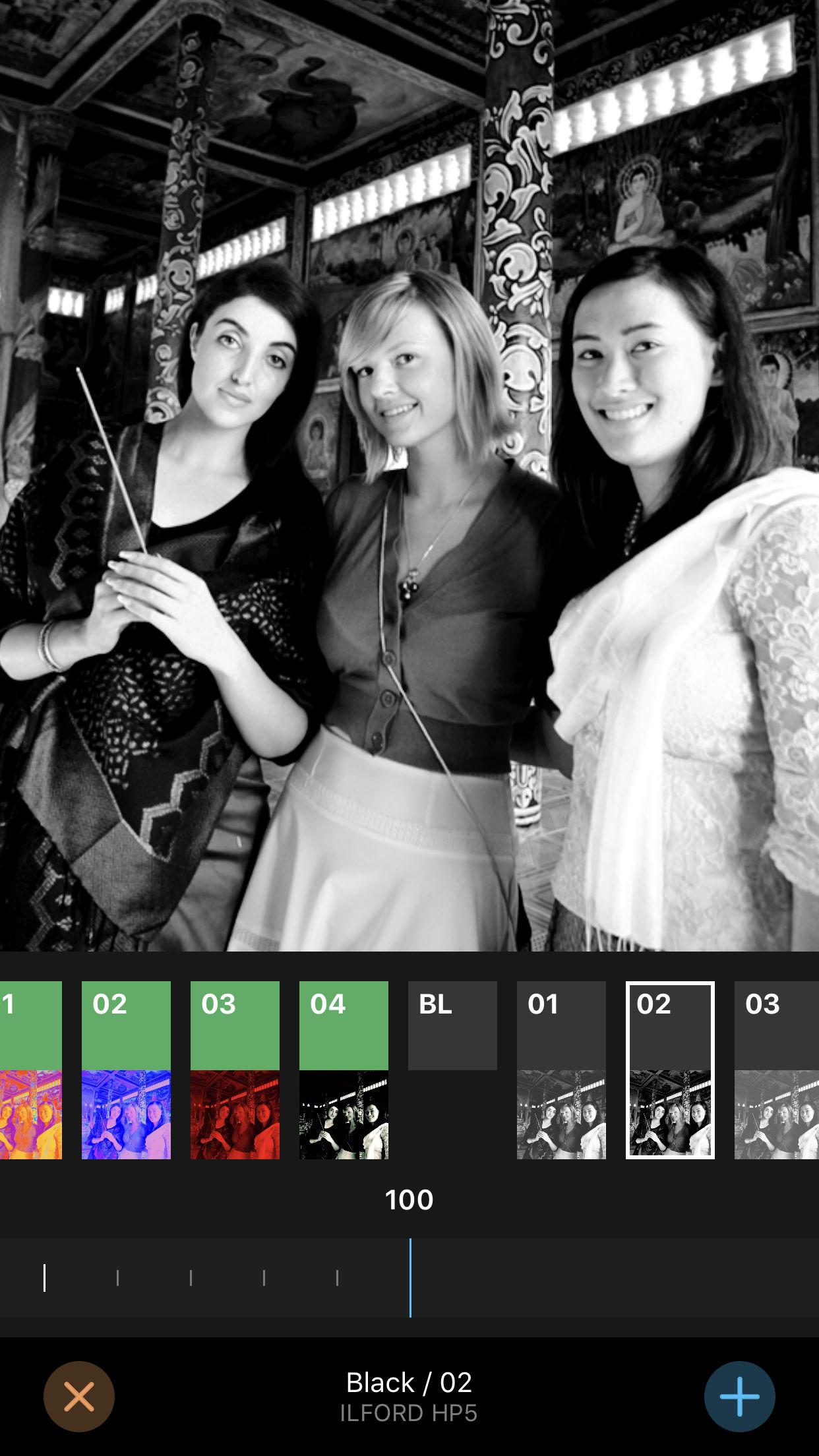 Screenshot do app Filter Candy