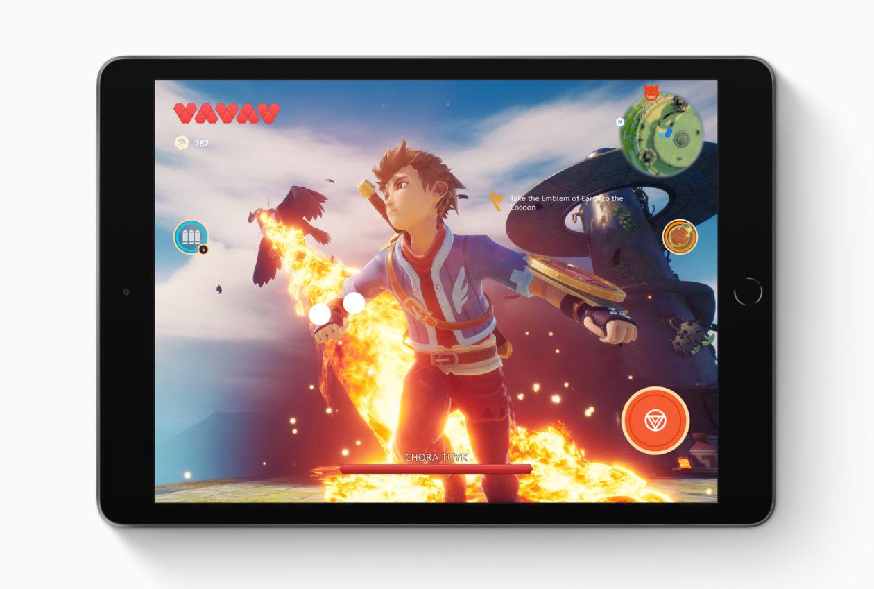Display do iPad de sétima geração