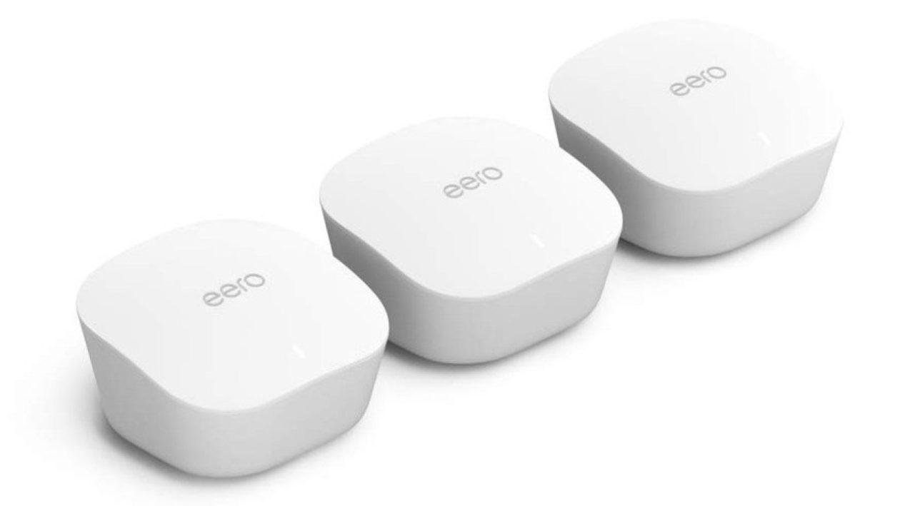 Novos roteadores Eero, da Amazon