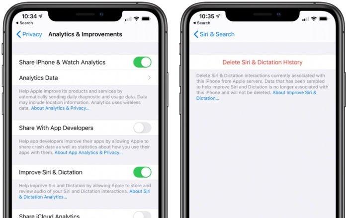 Siri no iOS 13.2