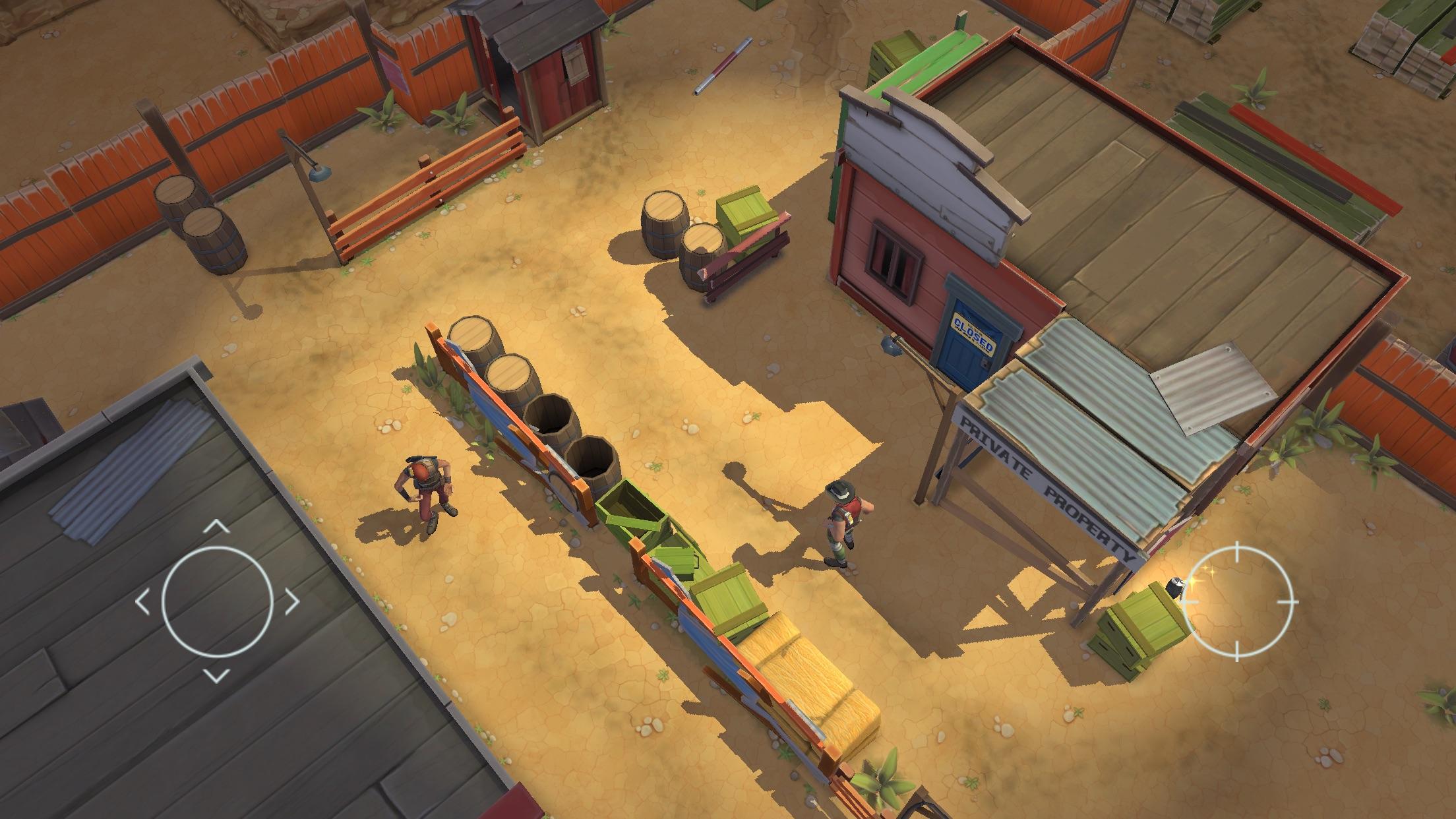 Screenshot do app Space Marshals