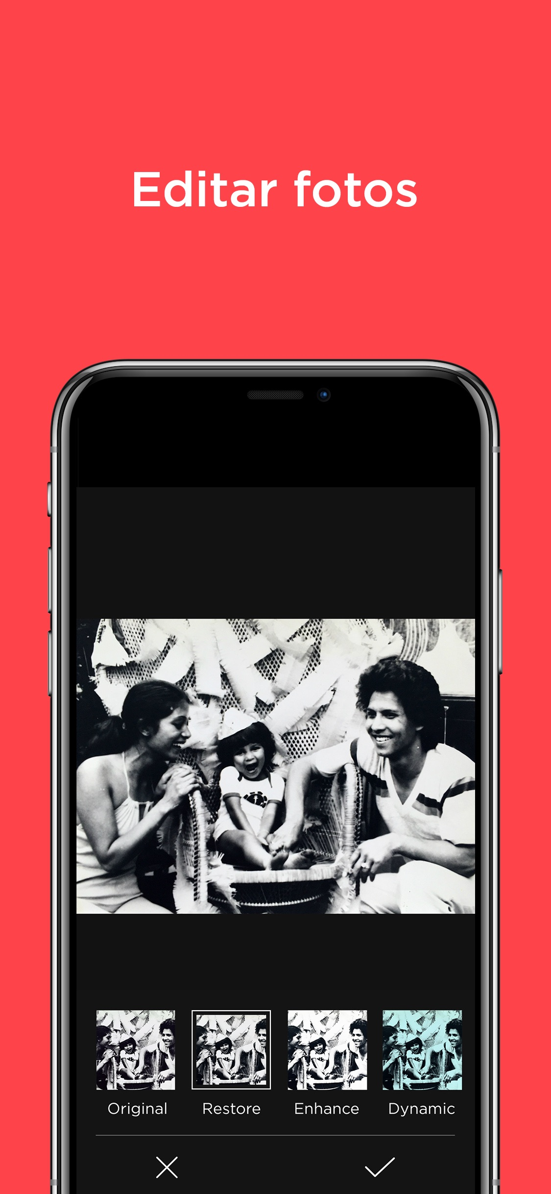 Screenshot do app Digitalizador de Fotos Plus