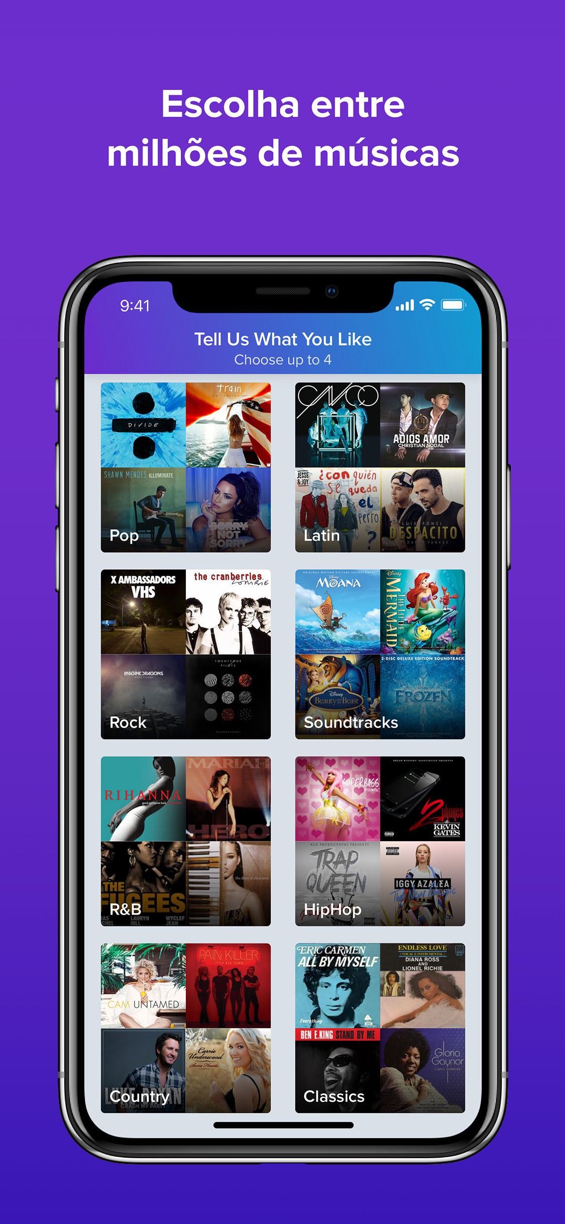Screenshot do app Smule - O App nº1 Para Cantar