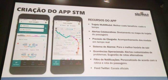 App STM São Paulo