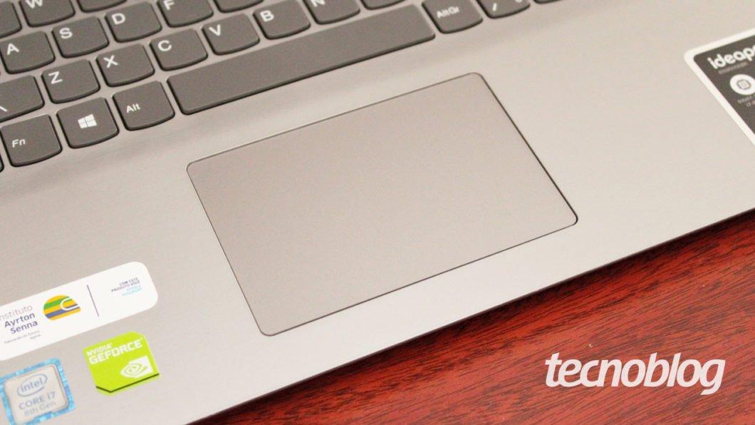 Lenovo Ideapad S145 - touchpad