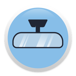 Ícone do app Rearview - prying eyes alarm