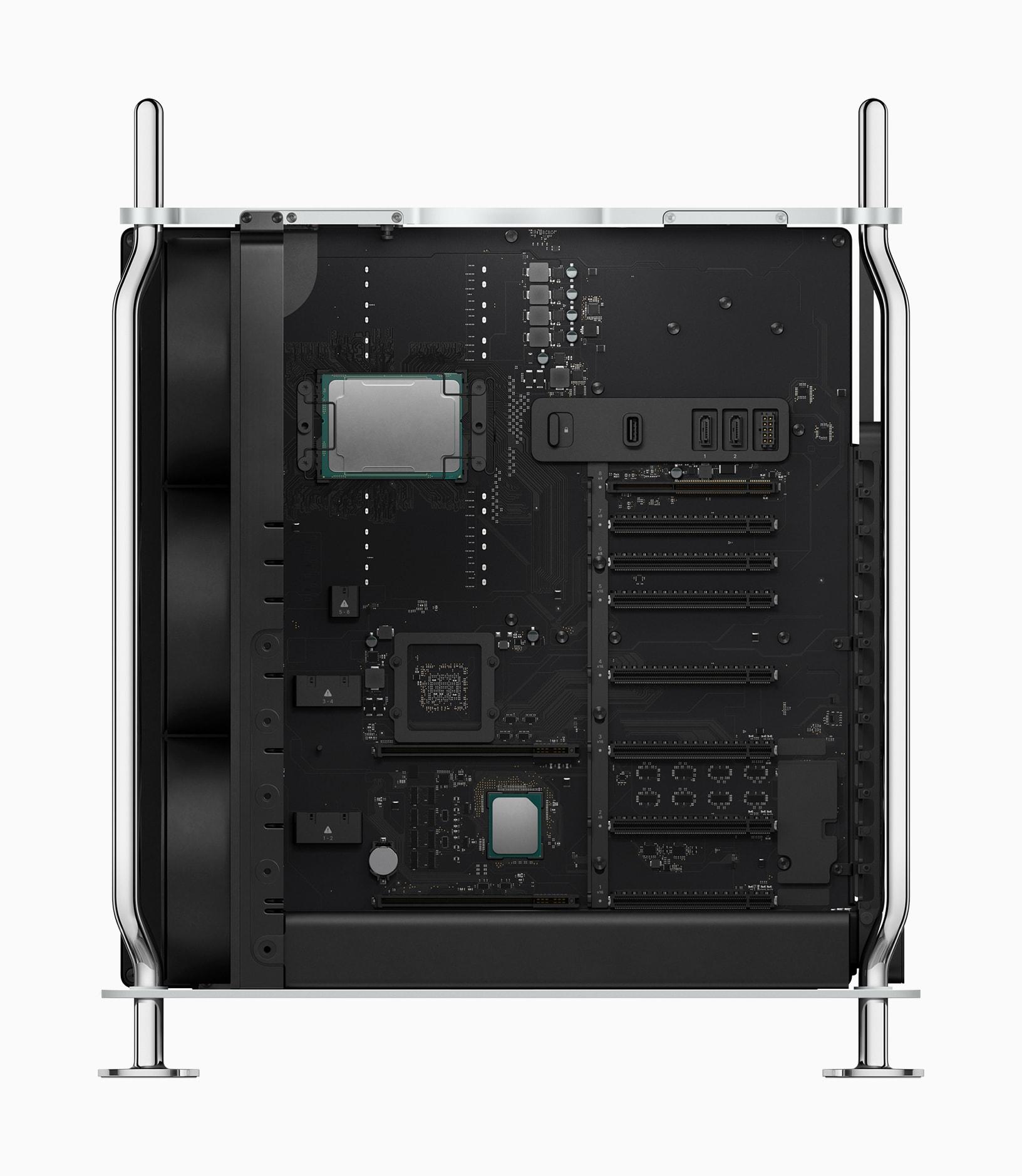 Novo Mac Pro por dentro