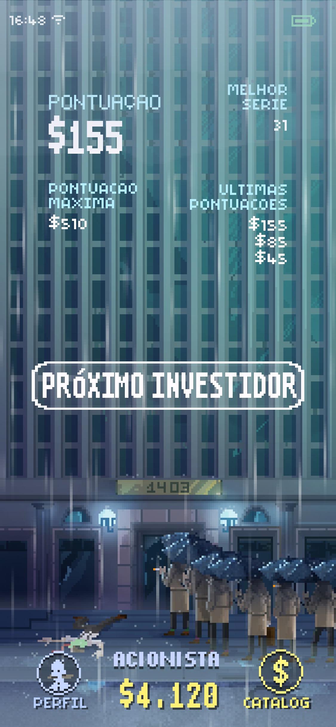 Screenshot do app The Firm