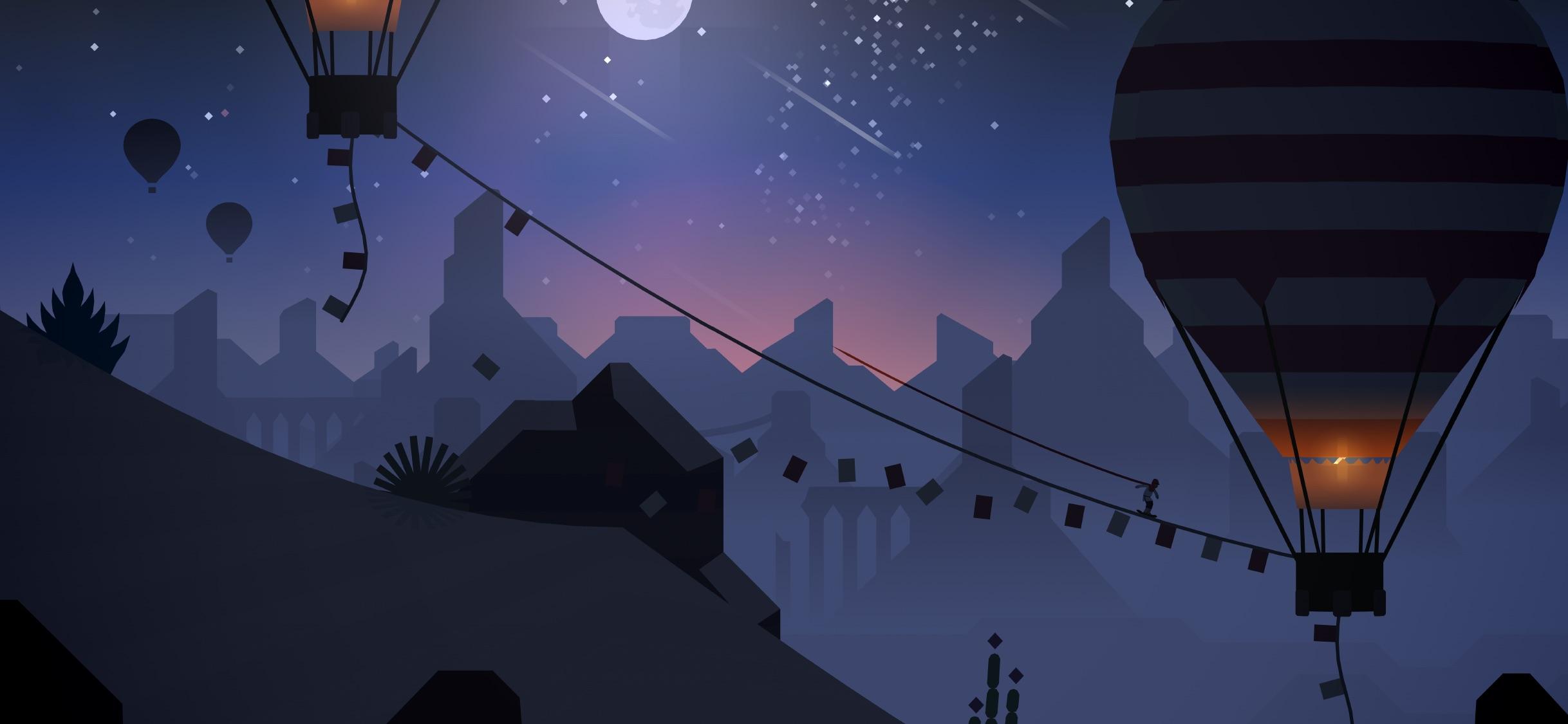 Screenshot do app Alto's Odyssey
