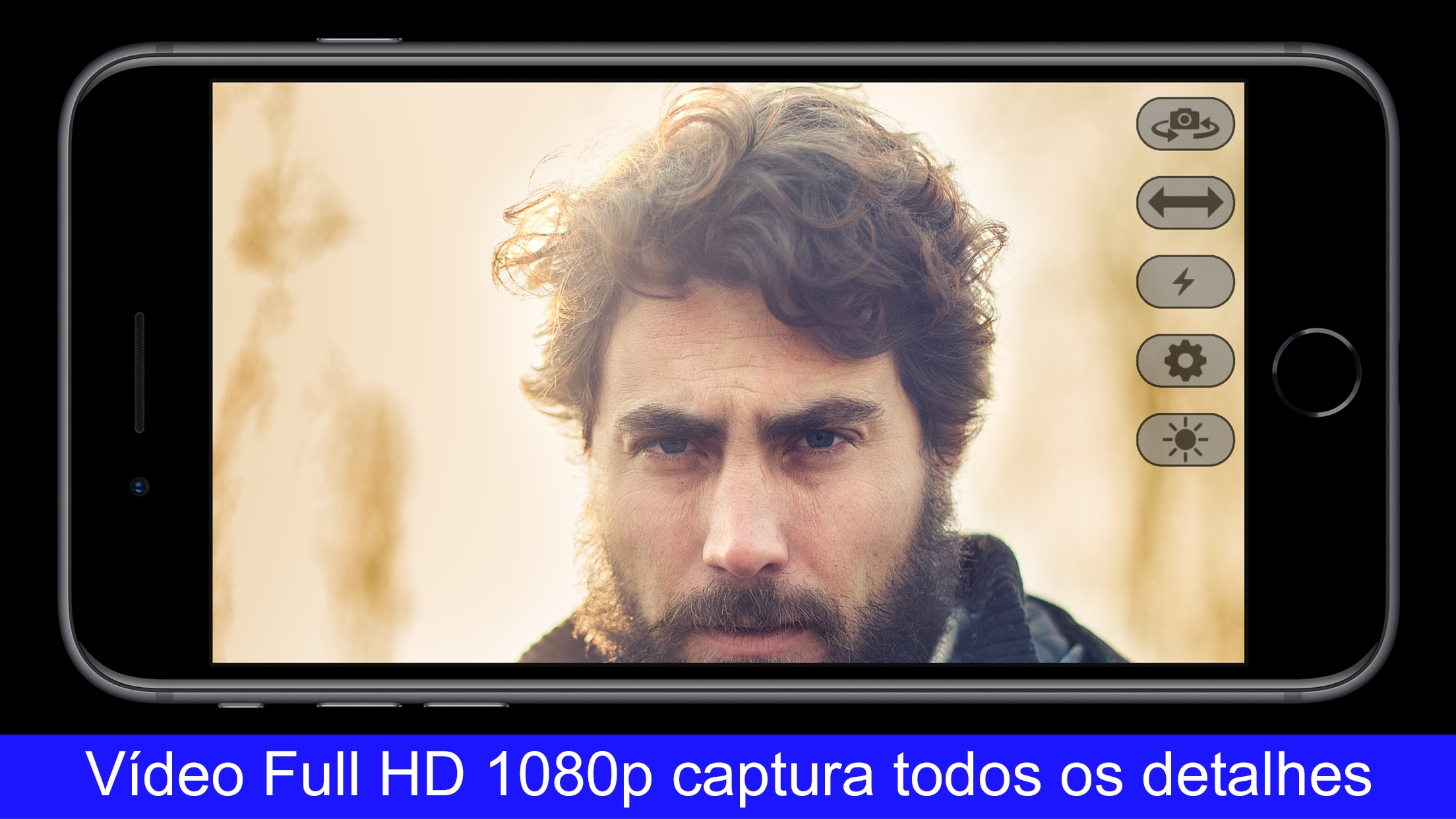 Screenshot do app EpocCam Webcam HD para Mac/PC