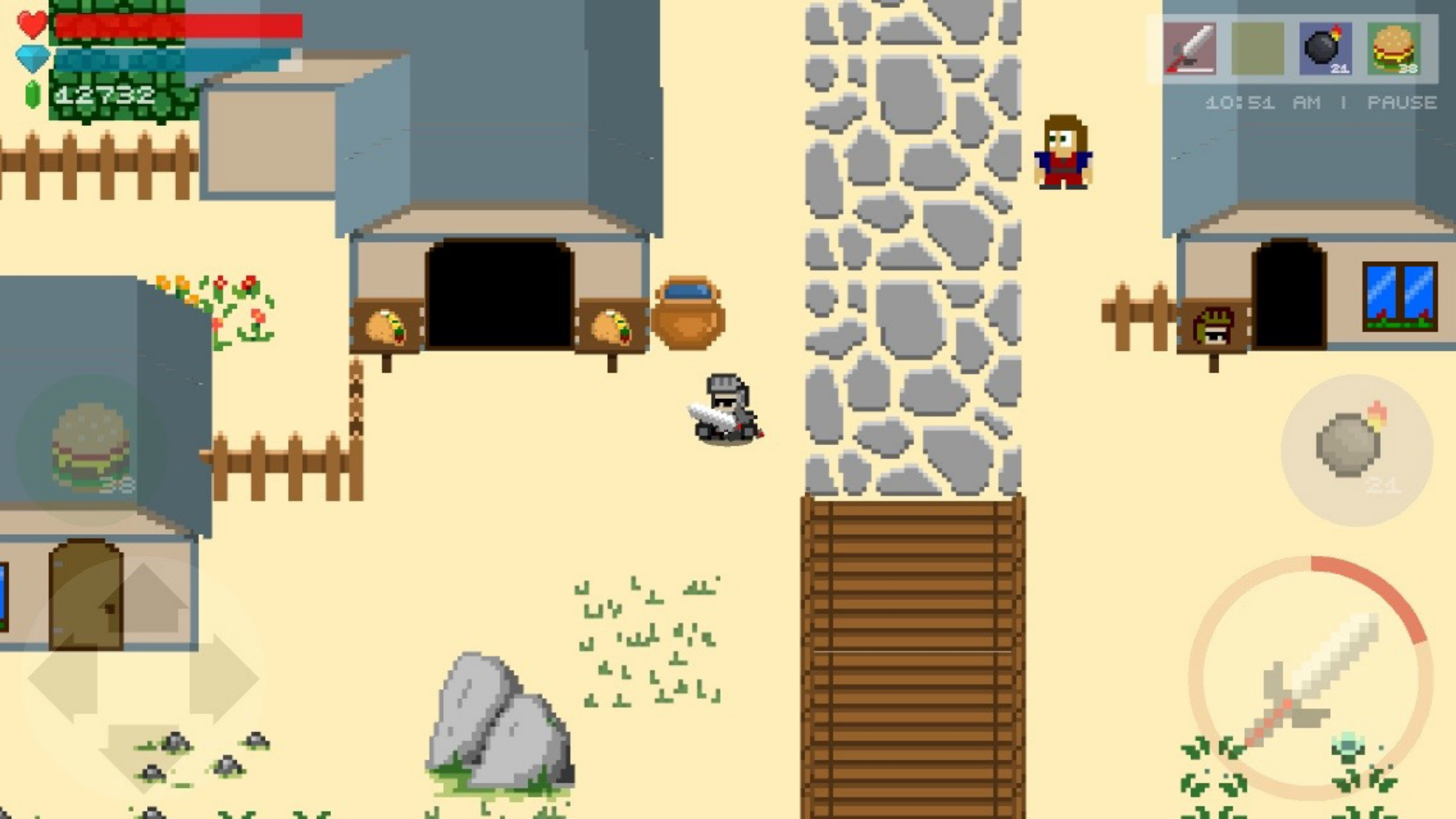 Screenshot do app Retro Knight