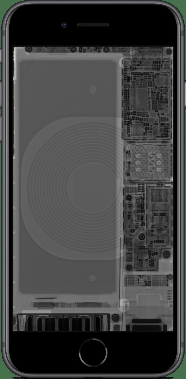 Wallpaper da iFixit para o iPhone SE