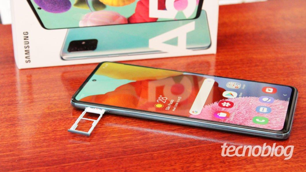Samsung Galaxy A51 - gaveta