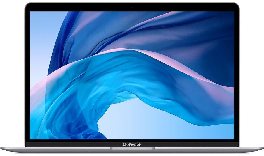 MacBook Air 2018 de frente para box