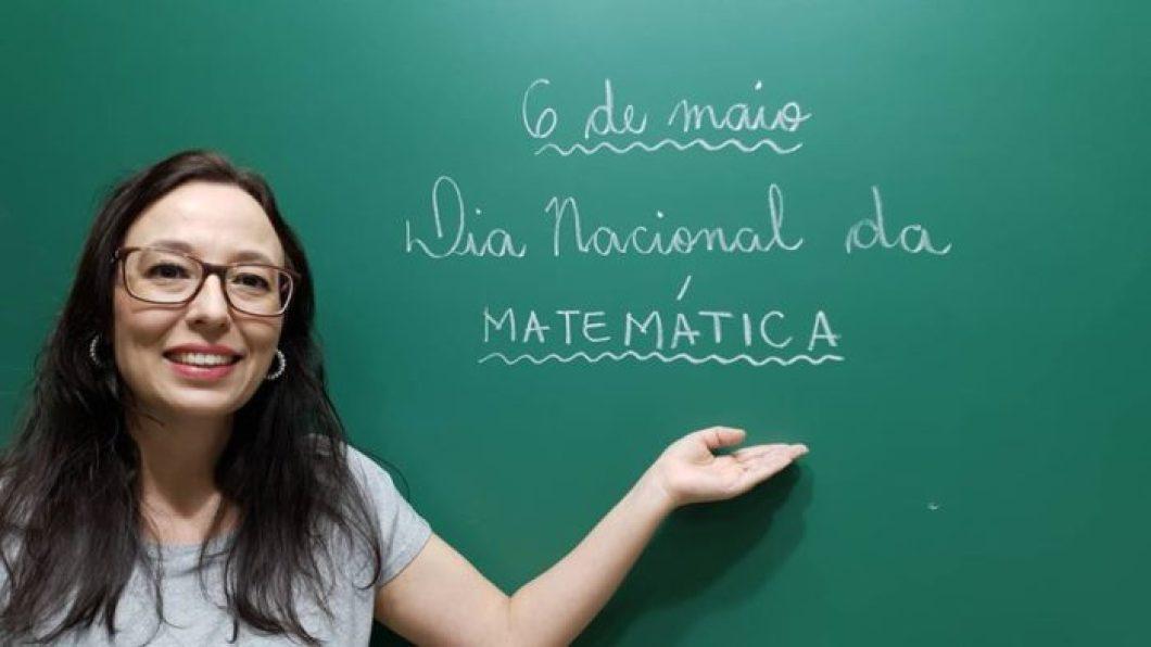 Professora Angela Matemática / Arquivo pessoal