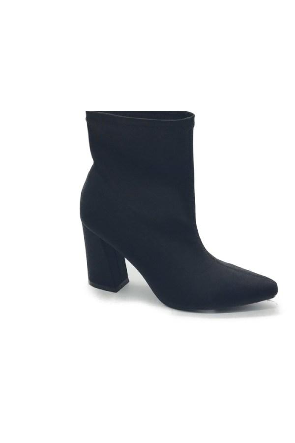 Μποτάκι κάλτσα μαύρο