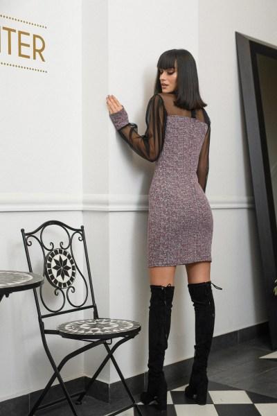 Zazuela φόρεμα με διαφάνεια
