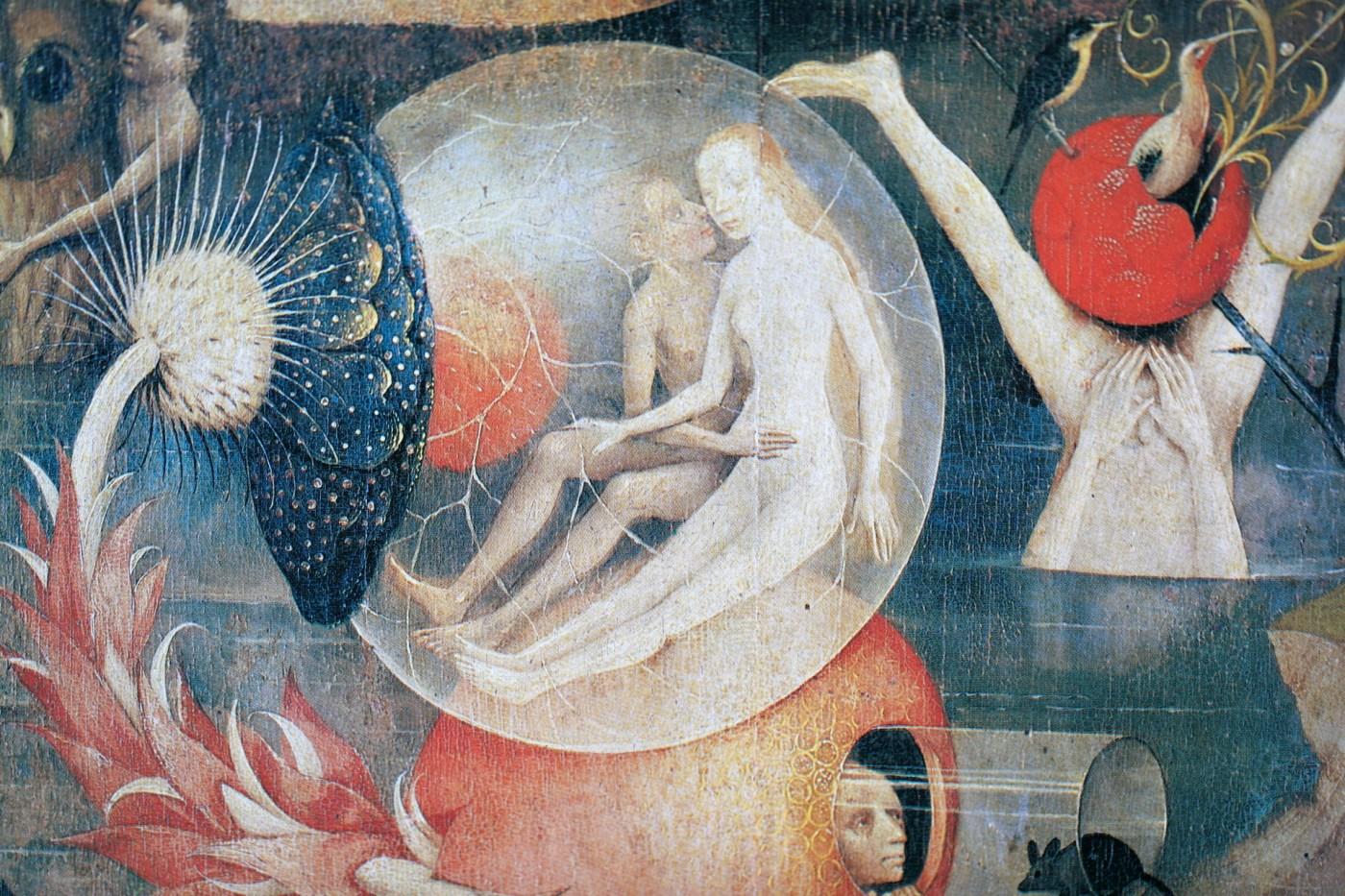 Hieronymus Bosch Ausschnitt Garten 2