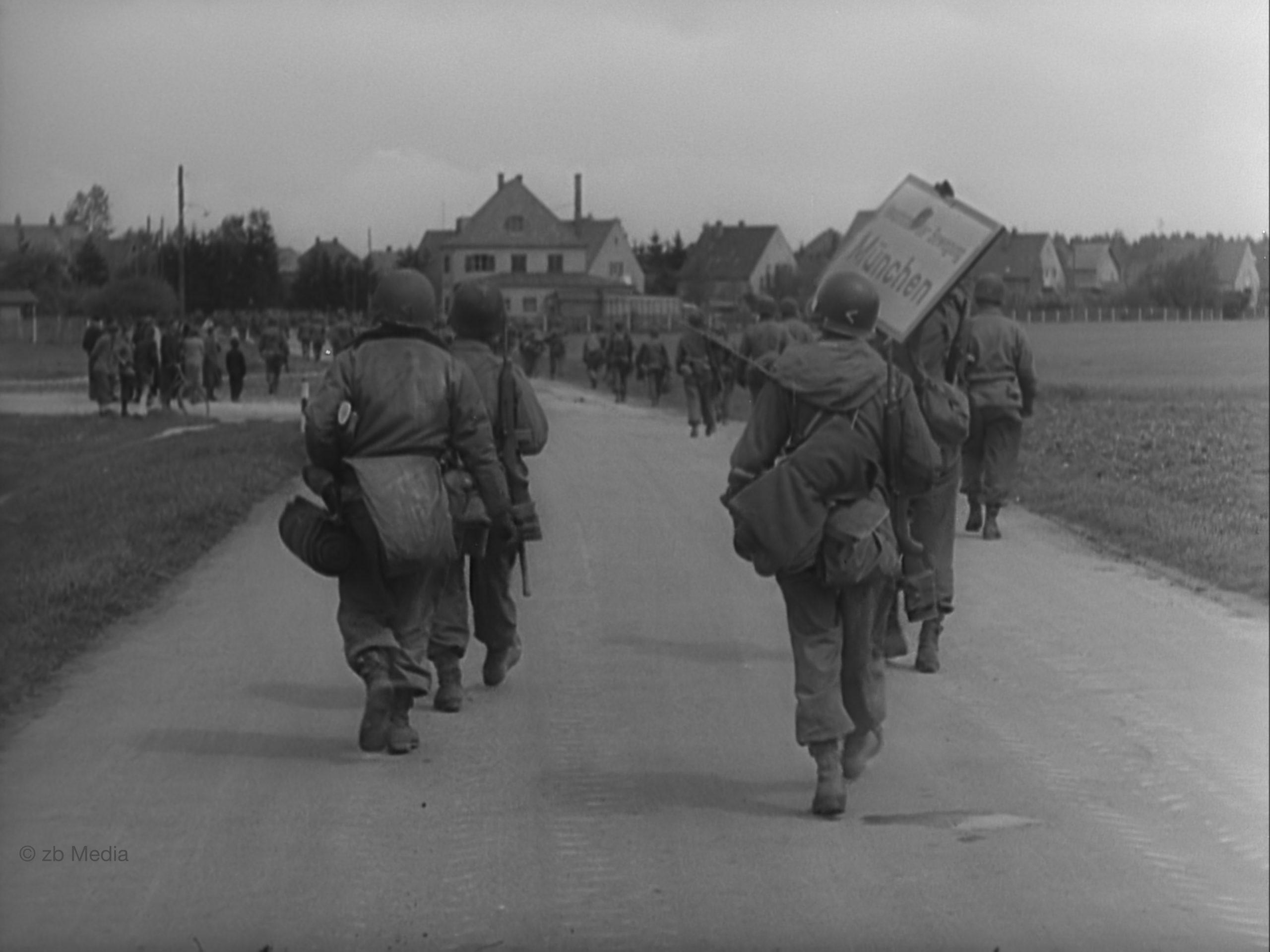 GIs erorbern München - 30.04.1945 Obermenzing