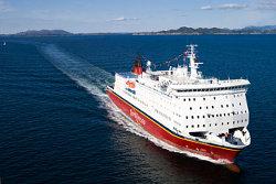 Die stolze MS Bergensfjord (Foto: fjordline.no)