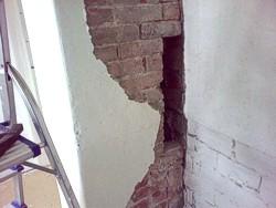 Durchgangszimmerschornstein