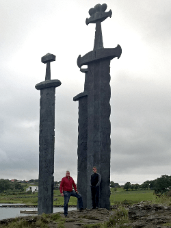 Detlef und Claudius, August 2015