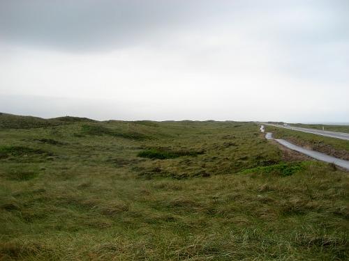 Weg durch die Dünen südl. v. Hanstholm