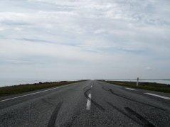 Agger: 10 km geradeaus