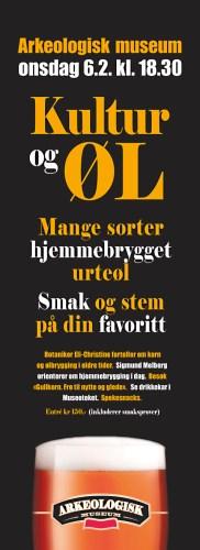 Kultur og øl: Heimbrauwettbewerb des Archäologischen Museums Stavanger