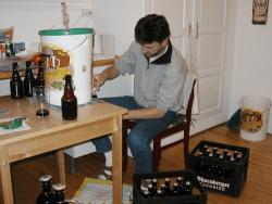 Bierabfüllung 2002 in Oslo
