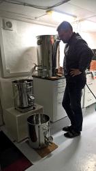 Best of two worlds: Alte und neue Braukessel kombiniert zu einer Brauerei