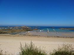 Direkt am Wasser: Der bretonische Strand