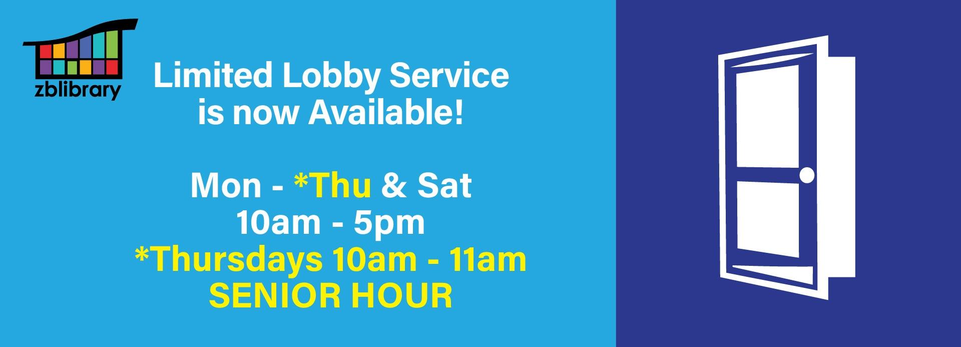 COVID-Lobby Service