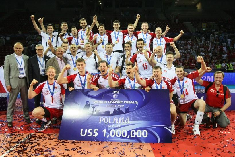 Piękny (izasłużony) widok: Polacy zwycięzcami Ligi Światowej 2012