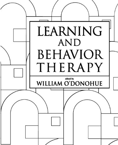 LEARNING AND BEHAVIOR THERAPY By William T. O'donohue
