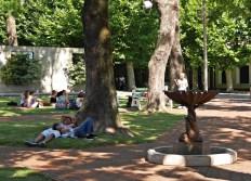 Sjesta na głównym placu