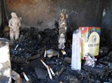 spalona kapliczka