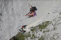 Vidéo qui retrace la première ascension féminine de Silbergeier, une des longue voie les plus dure du monde. Nina Caprez et Cédric Lachat.