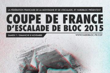 La 2ème étape de la coupe de France de bloc se déroulera samedi 7 et dimanche 8 novembre 2015 dans la salle Hardbloc