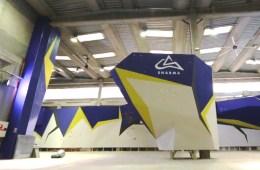 La nouvelle salle d'escalade imaginée par Chris Sharma ouvrira ses porte le 11 novembre 2015 à Barcelone.