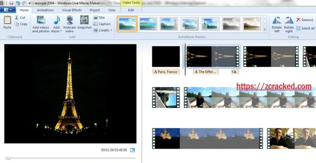 Windows Movie Maker registration Code