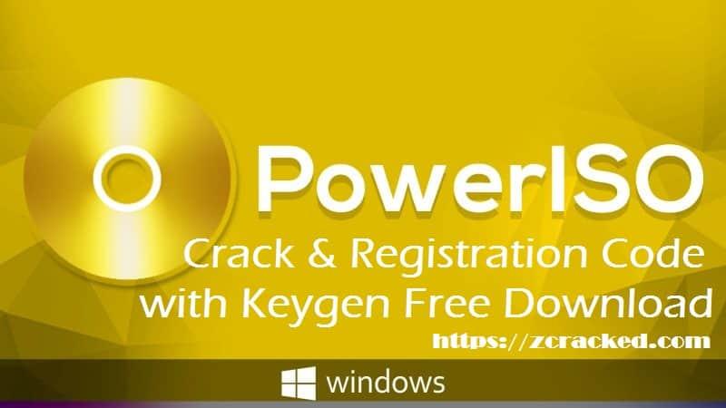 PowerISO Crack Free Download Full Version