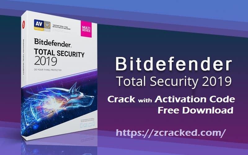 bitdefender total security 2019 Crack cover
