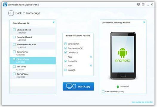 Wondershare MobileTransfer Crack