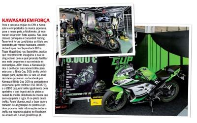 A ZCUP PT também mencionada na revista MOTOS