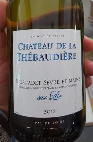 Francuskie wina w Lidlu_Chateau de la Thebauderie_Nuscadet Sevre et Maine sur Lie