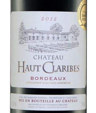 Francuskie Wina w Lidlu_CHATEAU_HAUT_CLARIBES