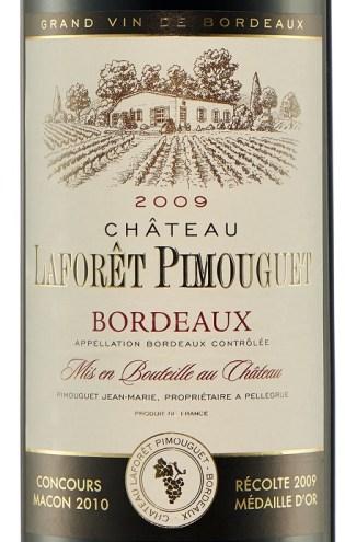 Francuskie Wina w Lidlu_CHATEAU_laForet_Pimouguet_2009