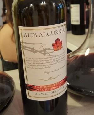 Alta Alcurnia_Carmenere_Gran_Reserva